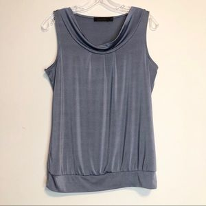 THE LIMITED Scoop neck sleeveless tank top blouse